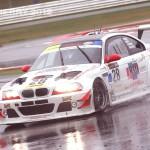 In the wet Britcar 24hr Winners Geoff Steel Racing
