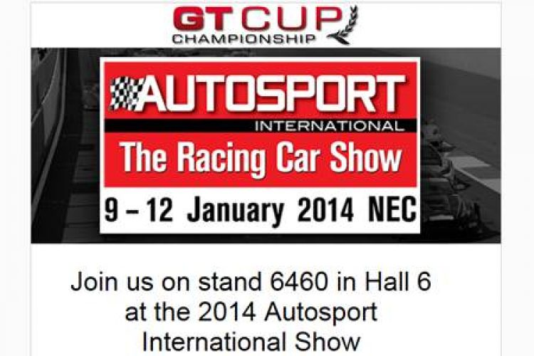GT Cup Championship are getting revved for the Autosport Show